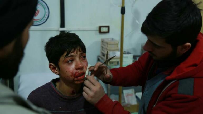 خلال أسبوع لقي 500 شخص مصرعهم في الغوطة الشرقية - لا أحد يضمن حياته هناك