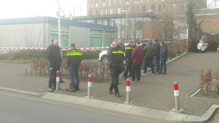 اخلاء مركز شرطة في أوتريخت لاحتمال وجود مواد متفجرة