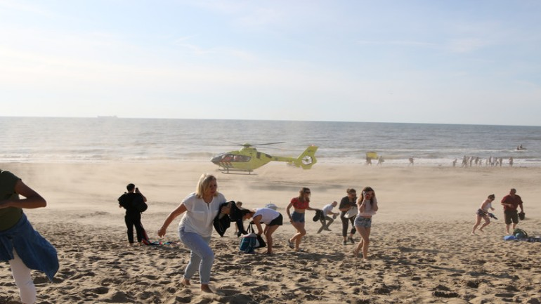وفاة ثلاثة أشخاص مساء اليوم غرقا في مياه البحر على شواطيء دانهاخ