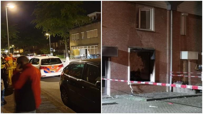 رجل مختل يفجر منزله فور مداهمته من قبل الشرطة بهوينسبروك في ليمبورخ