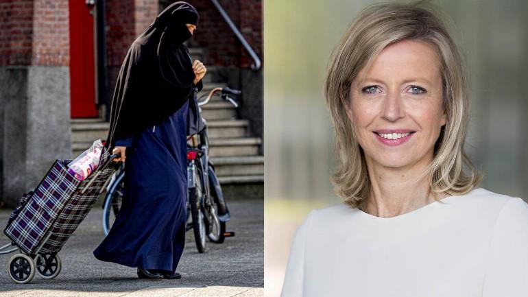 وزيرة الداخلية الهولندية: مهمة حظر البرقع هي من اختصاص الشرطة وليس العاملين المدنيين