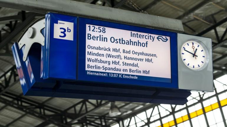 القطار الذي ينطلق من أمستردام إلى برلين غالبا سيمر عبر محطة أرنهيم