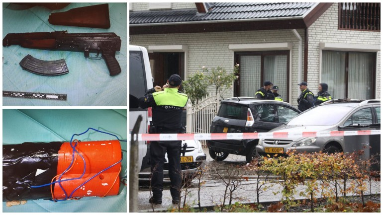 العثور على أسلحة ومتفجرات في مخيم للمنازل الصيفية في أوس بمقاطعة بربانت الهولندية