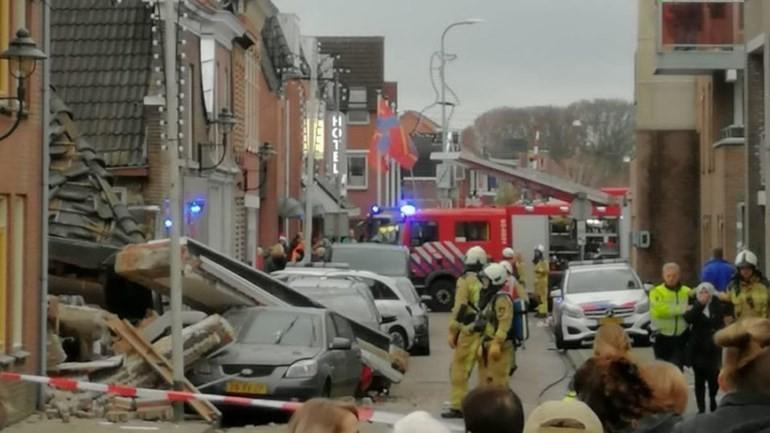 انفجار مطعم في Coevoerden بمقاطعة درينتي الهولندية وانهيار أجزاء من المبنى
