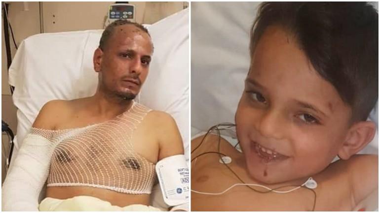 """""""أبي أنا هنا"""": محمود سمع صراخ ابنه كنان من تحت الأنقاض عقب انفجار المطعم في درينثي"""