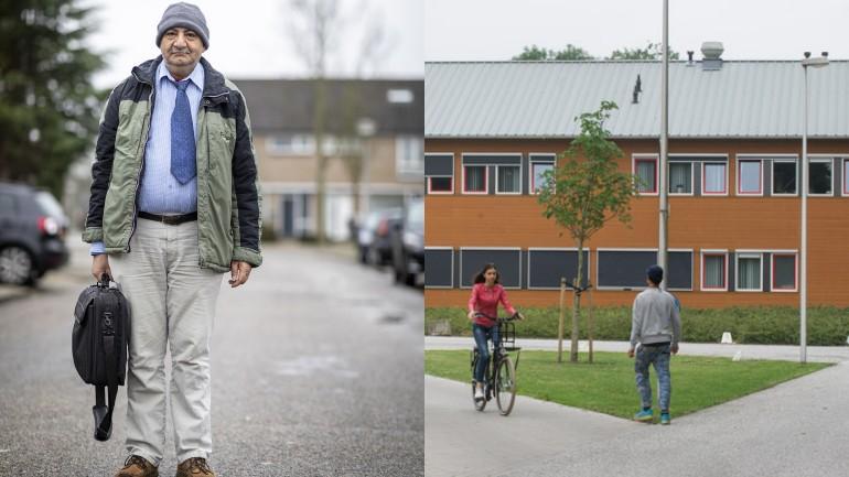 محمود طالب لجوء سوري مهدد بالترحيل من هولندا بسبب القواعد الأوروبية و توقيع خاطيء