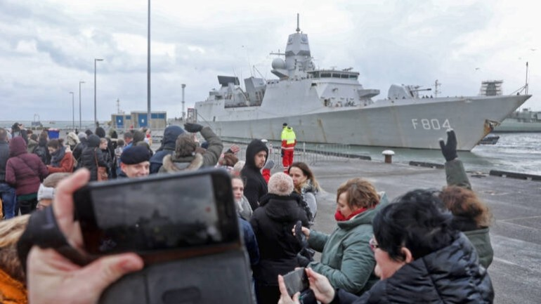 """فرقاطة """"سفينة حربية"""" هولندية تتوجه إلى مضيق هرمز في مهمة أمنية أوروبية"""