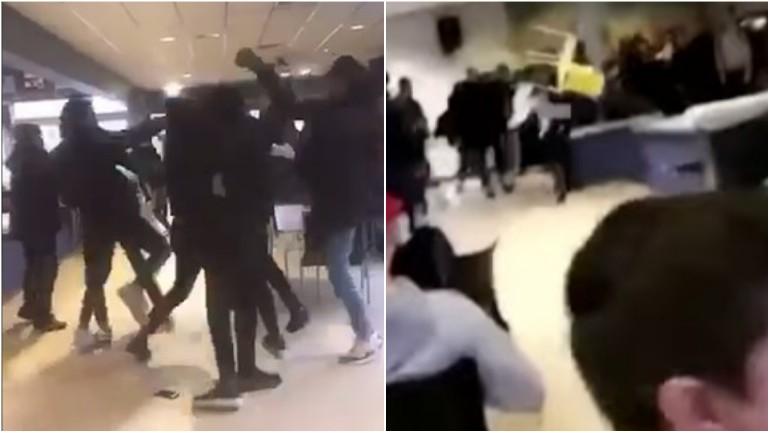 كراسي تتطاير قبيل عيد الحب: الشرطة تتدخل لفض شجار في مدرسة ثانوية في ألفين أن دن راين