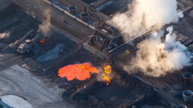 فزع السكان جراء انفجار في موقع عمل شركة تاتا ستيل في بيفيرفايك