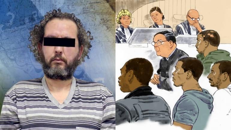 بخلاف محاكمة مارينغو - رضوان تاغي وجه الأوامر أيضاً لارتكاب تسع جرائم قتل في هولندا