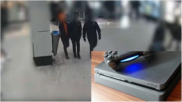 صبي يشتري بلاي ستيشن فيسرقها منه ثلاثة لصوص و الشرطة تحذرهم بنشر صورهم بشكل واضح