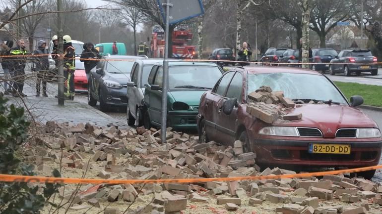العاصفة إيلين تتسبب ببعض الأضرار في جنوب هولندا: ستستمر حتى مساء غداً الإثنين