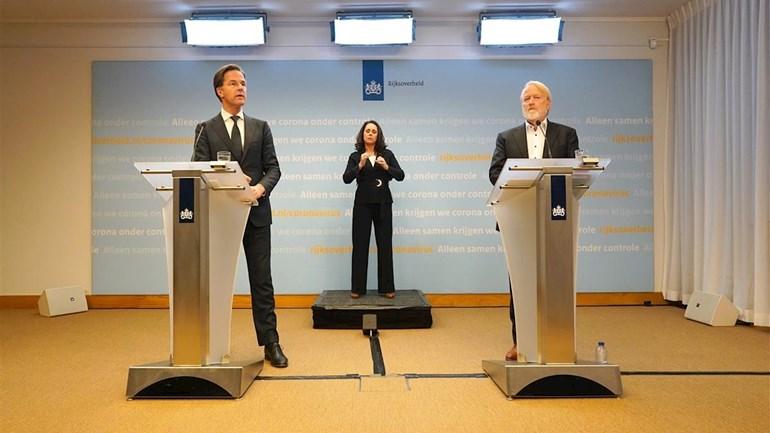 المؤتمر الصحفي: قرارات الحكومة الهولندية حول اجراءات مكافحة فيروس كورونا