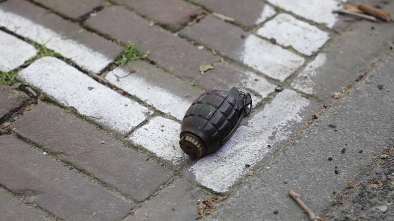 اخلاء مركز شرطة في لايدن لبعض الوقت بعد أن قام شخص باحضار قنبلة يدوية
