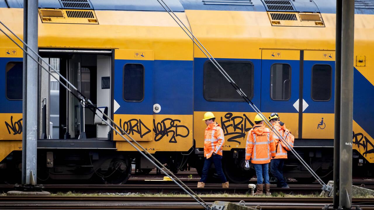 نتائج التحقيق في انحراف قطار بالقرب من وسط لاهاي في أوائل يناير بسبب مشاكل في نظام الفرامل