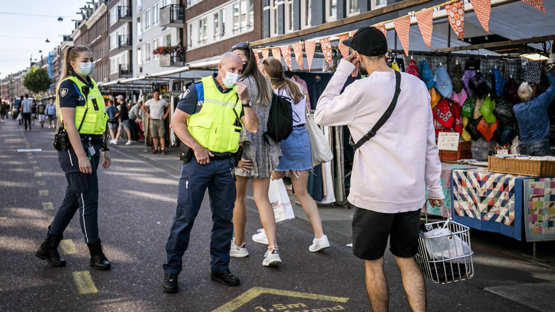يجب أن تعتاد Amsterdam وRotterdam على الكمامات في اليوم الأول