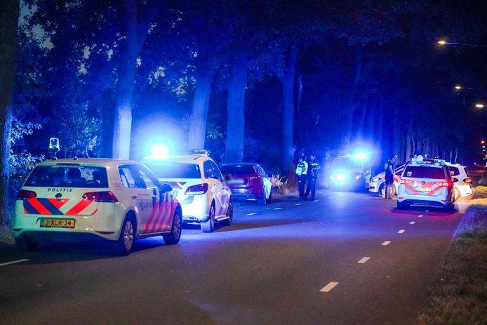 الشرطة تبحث عن الرجل الذي هدد الناس بالفأس في Eindhoven