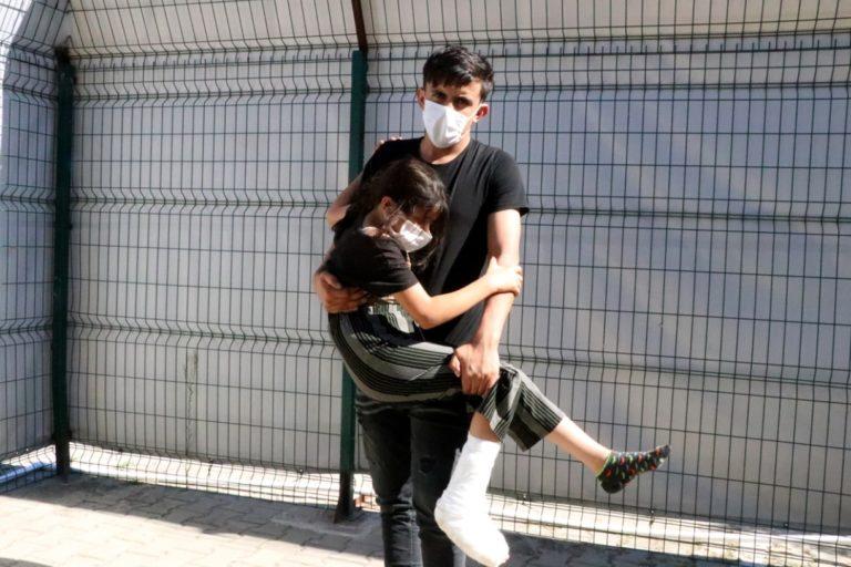 غرق زوجان سوريان بعد أن قام المهرب برميهما في البحر