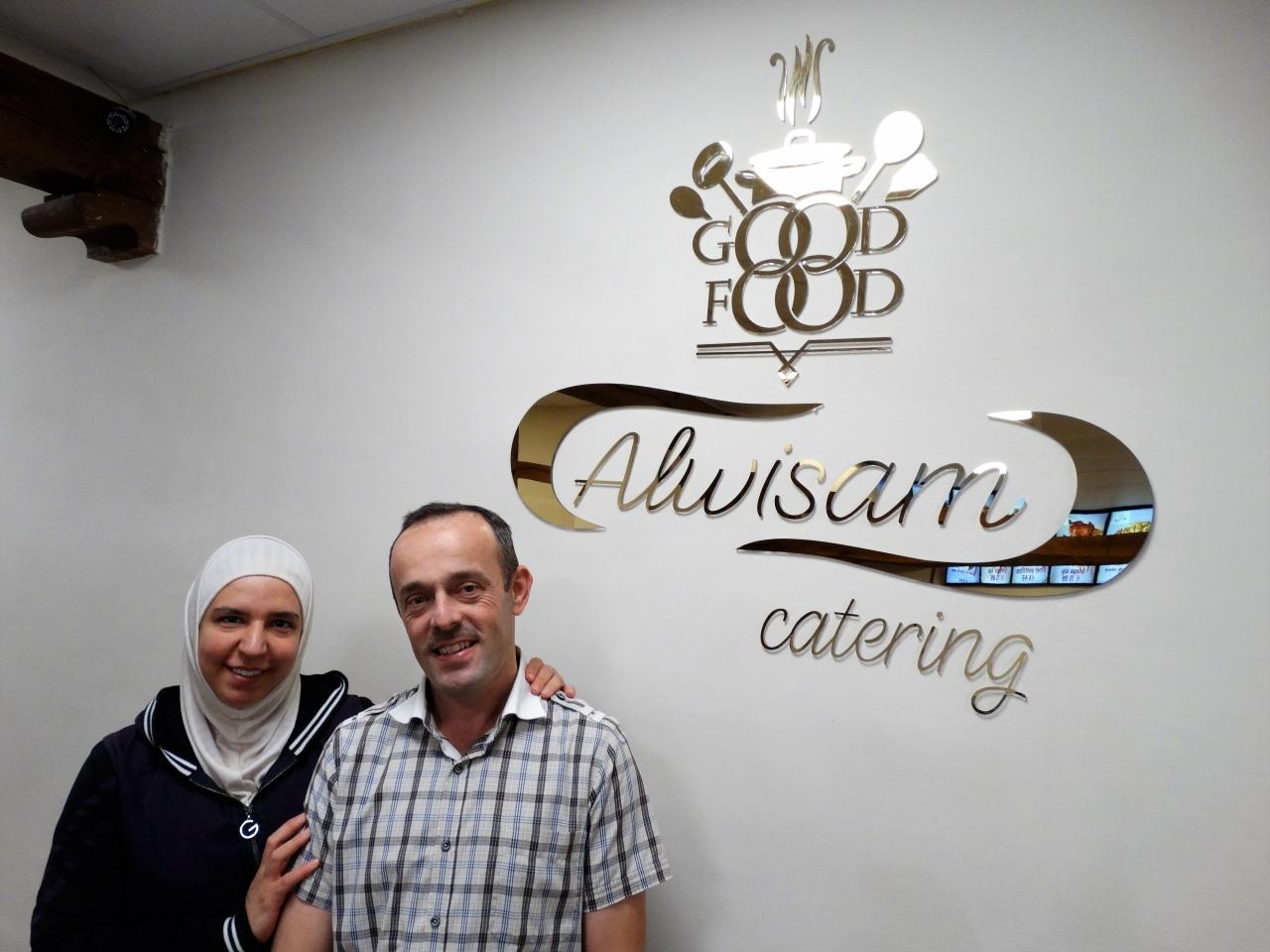 """افتتاح مطعم الوسام السوري في هولندا: """"الحلم أصبح حقيقة"""""""
