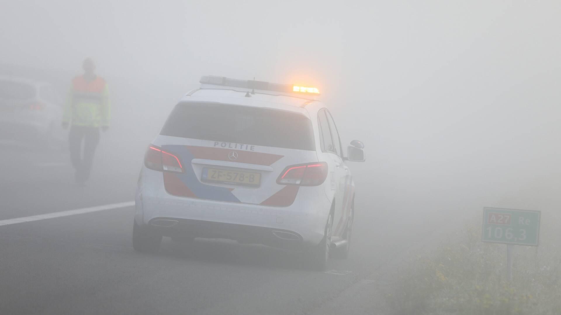 KNMI تحذر من ضباب كثيف للغاية في معظم المقاطعات الهولندية