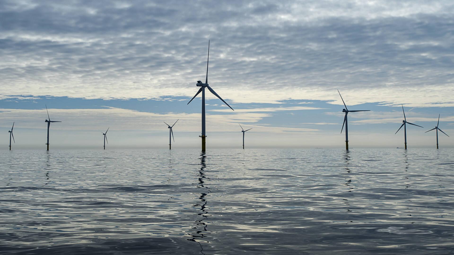 تربط هولندا والمملكة المتحدة مزارع الرياح في بحر الشمال