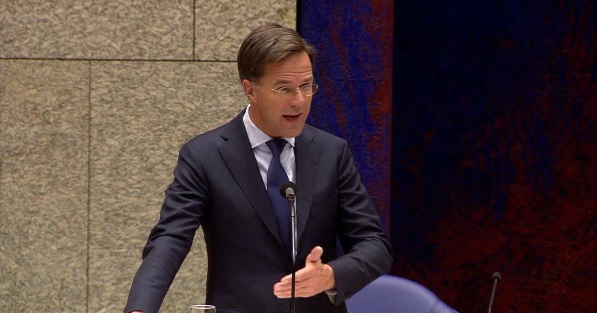 Rutte: ثماني مناطق أخرى مرشحة للدخول في منطقة الخطر