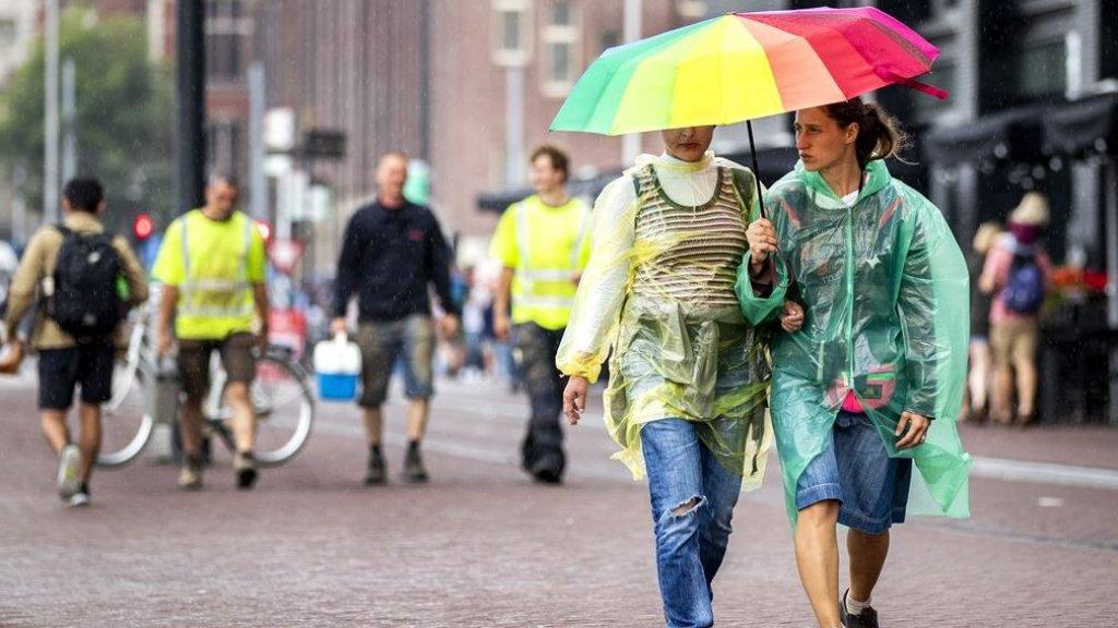 """بداية خريف رطبة في هولندا: """"هناك كمية هائلة من الأمطار قادمة إلينا"""""""