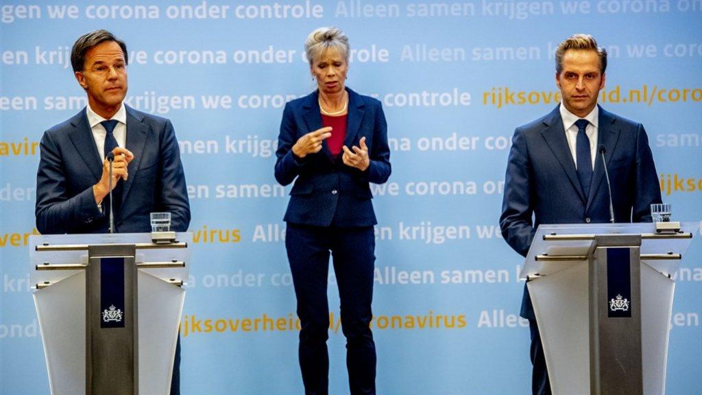 مؤتمر صحفي مبكر الليلة لرئيس الوزراء Rutte و De Jonge