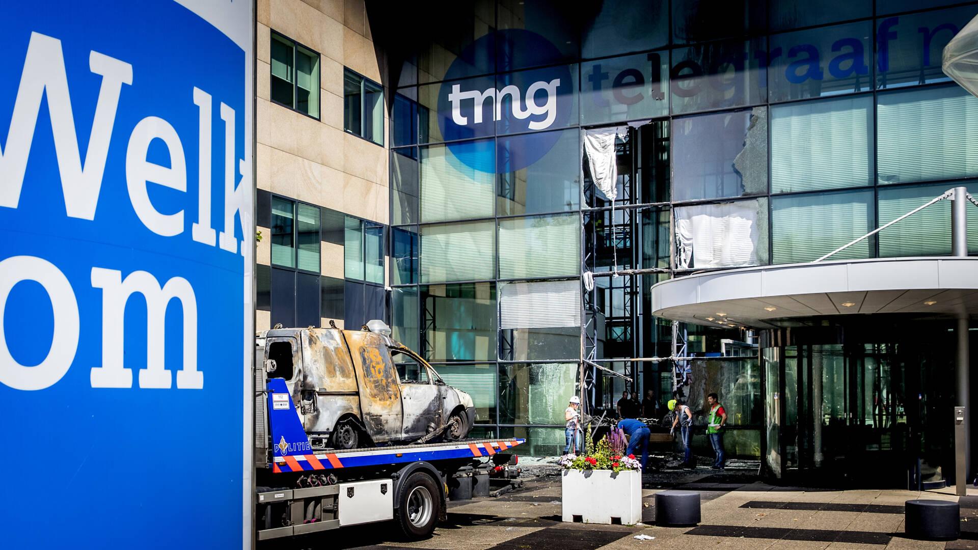 الحكم على الرجلين المتهمين بإحراق مبنى Telegraaf بالسجن