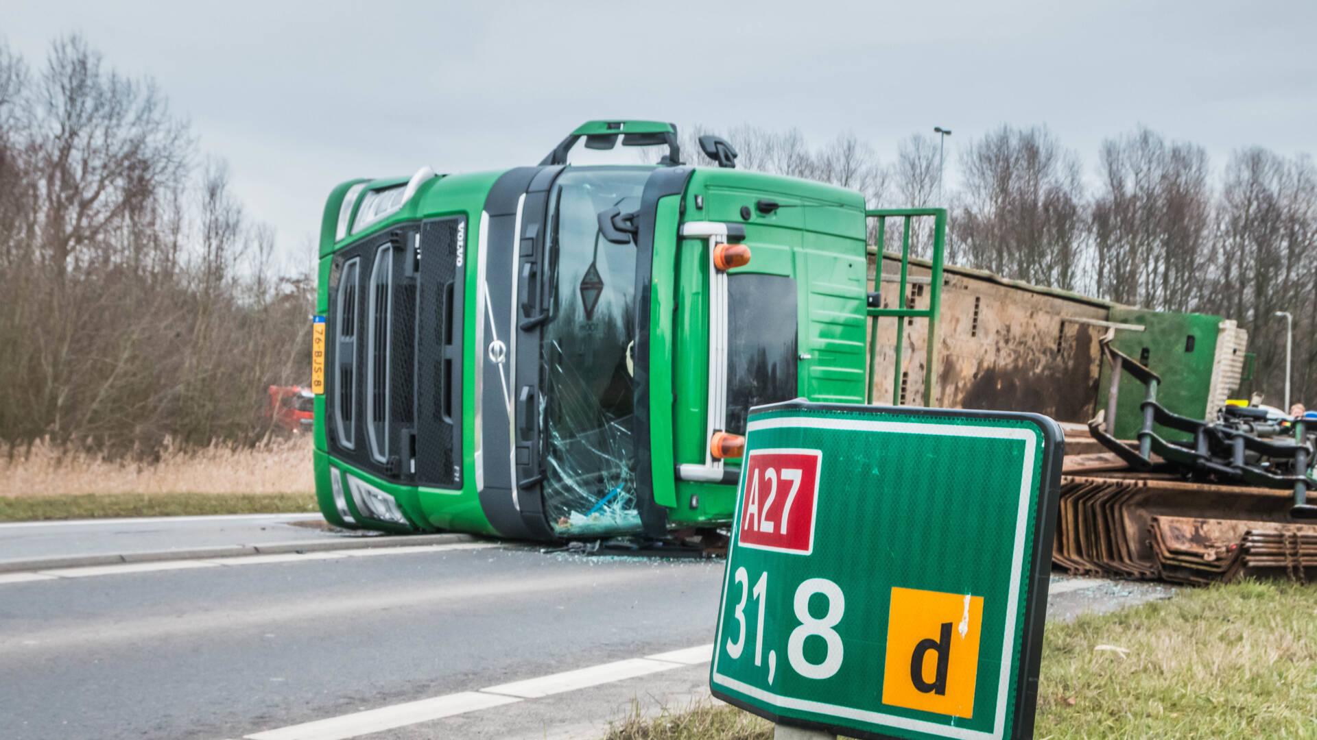 المزيد من حوادث الشاحنات بسبب الازدحام والطقس الدافئ
