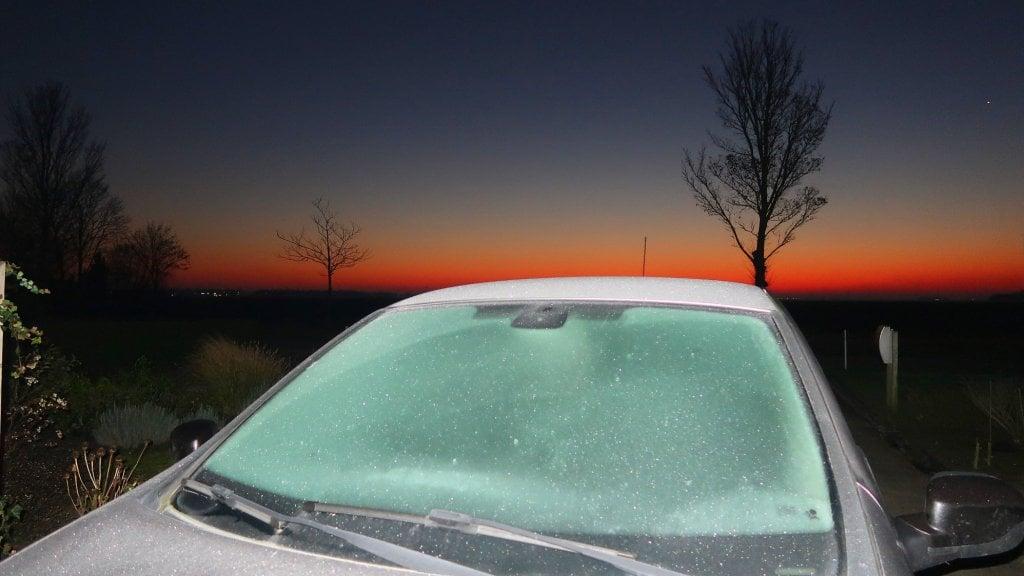 استمرار الجو البارد وانخفاض الحرارة إلى 3 درجات تحت الصفر