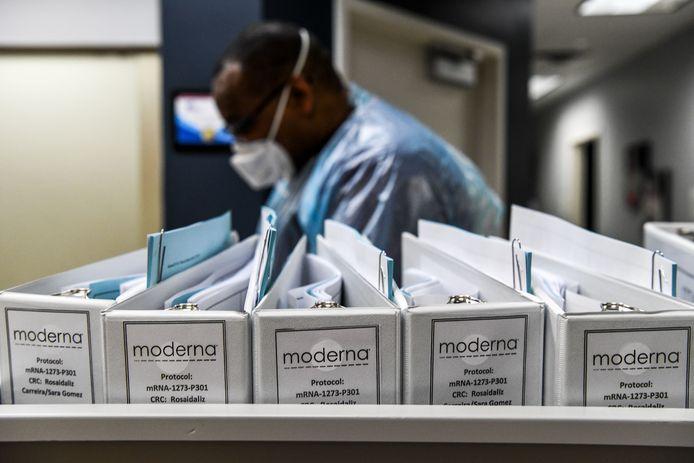 تريد شركة Moderna طرح اللقاح الخاص بها في السوق بسرعة