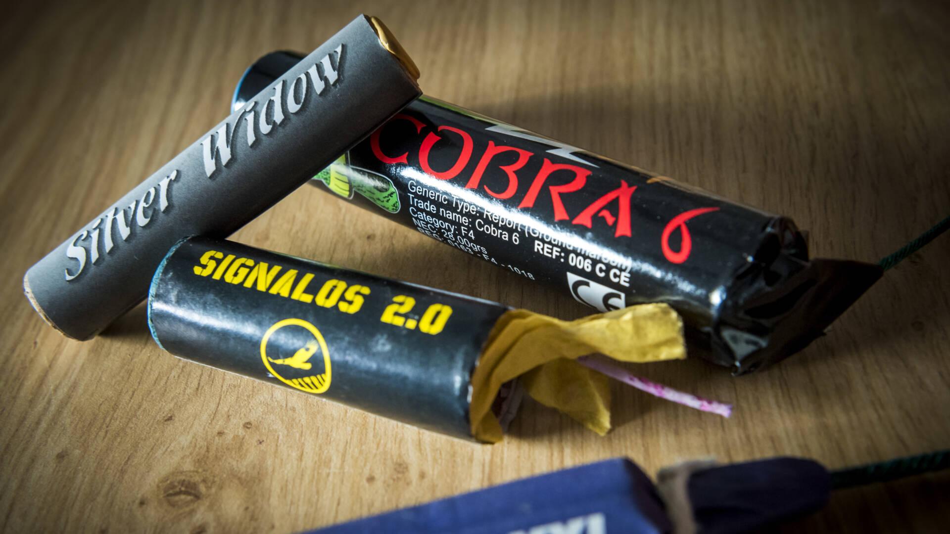 تجارة الألعاب النارية غير القانونية أكثر إجرامية واحترافية والتخزين في مخابئ الناتو