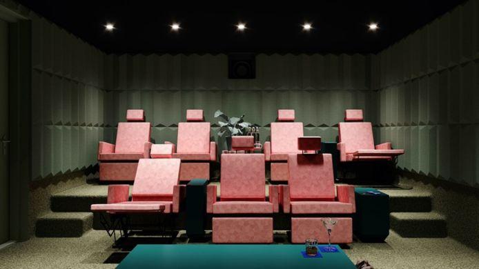 شركة هولندية تريد فتح دور سينما خاصة تتسع لشخصين إلى 7 أشخاص