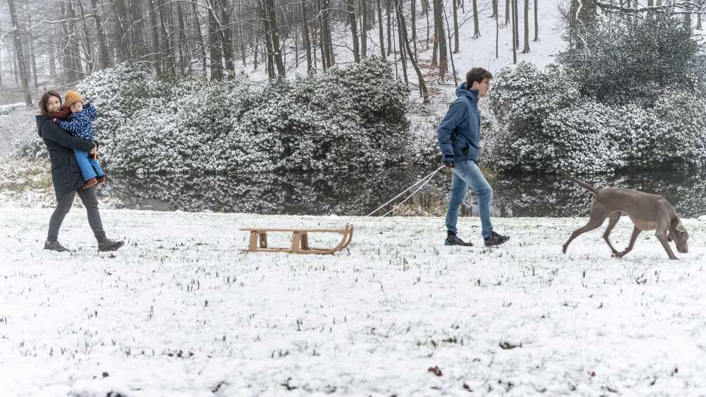 هولندا: فرصة أخرى للثلج في عطلة نهاية الأسبوع