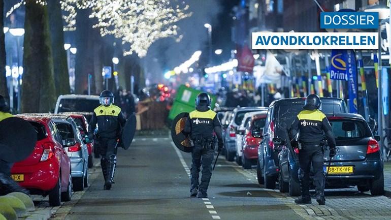 بعد ليالٍ قليلة من الفوضى والشغب استطاعت عناصر الشرطة من السيطرة على الوضع إلى حد ما في روتردام