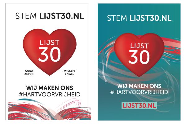 الانتخابات الهولندية - الغرفة الثانية - الحلقة الثانية والثلاثون - حزب Lijst 30