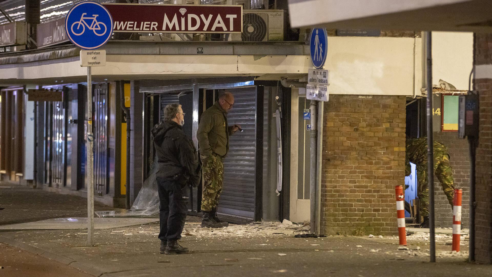 أضرار جسيمة بعد انفجار في محل مجوهرات في أمستردام