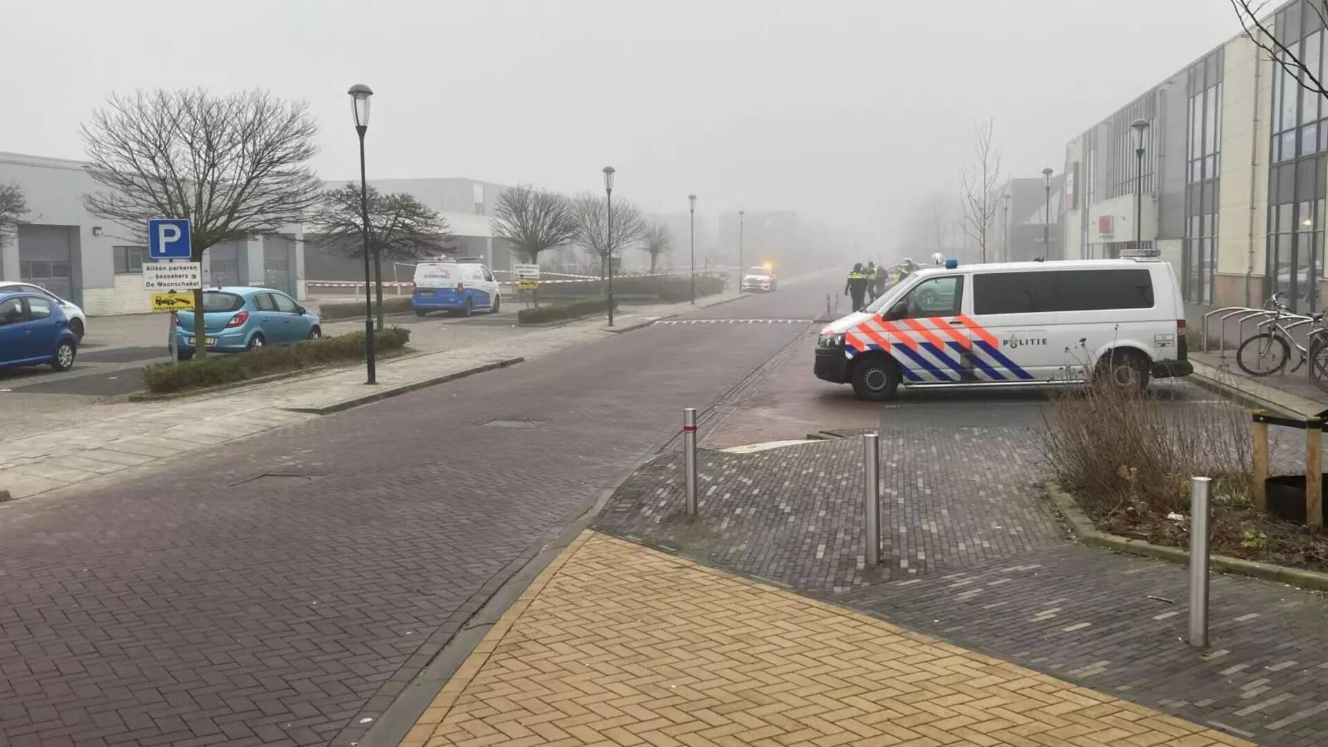 انفجار في GGD Bovenkarspel