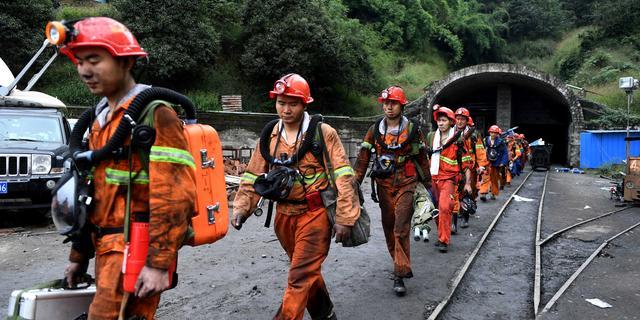 21 عاملاً صينياً محاصرون في منجم فحم غمرته المياه