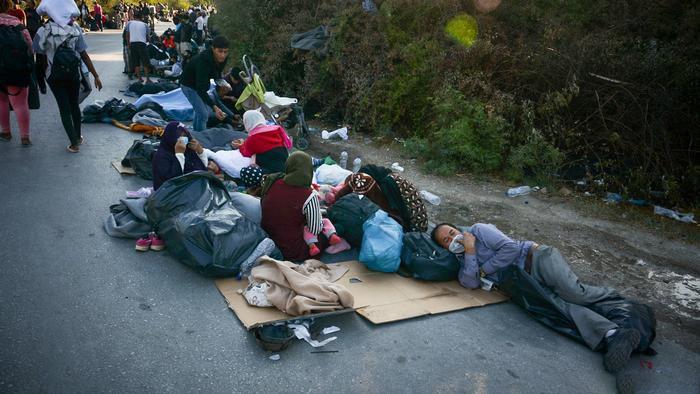 نداء إغاثة لمهاجري اليونان... من منظمات ألمانية مدافعة عن حقوقهم!