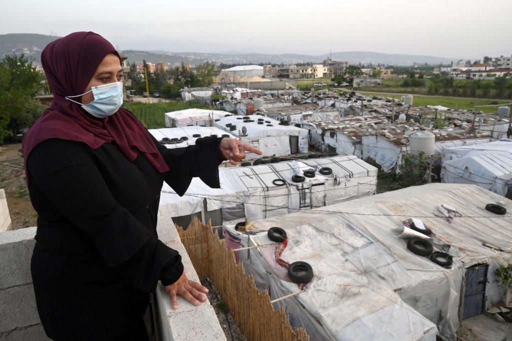 ترحيل 15 مهاجراً سورياً من لبنان !!