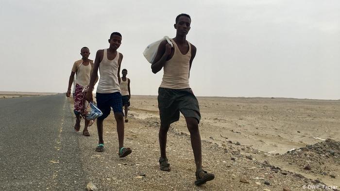 تحقيقات في غرق قارب يقل مهاجرين قبالة سواحل اليمن