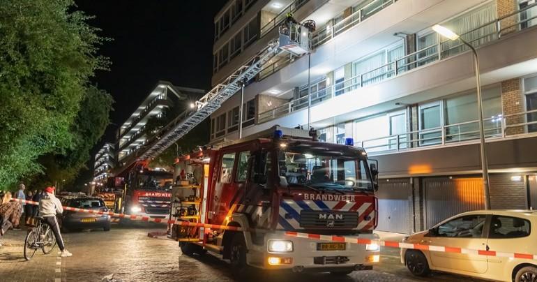 من حريق بشقة سكنية لمزرعة حشيش في زفاندريخت