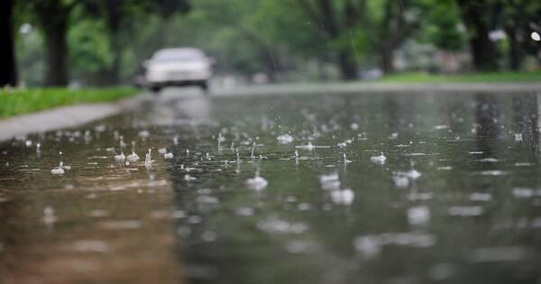 هولندا تعلن الرمز الأصفر مع موجة أمطار غزيرة قادمة