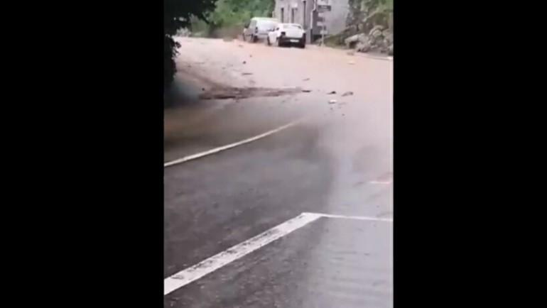 شارع يتحول إلى نهر بسبب فيضان مرعب خلال 3 دقائق في بلجيكا