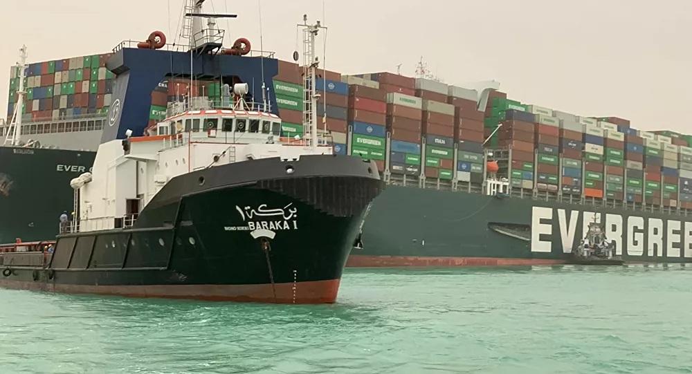 إيفر جيفين، السفينة التي أغلقت قناة السويس تصل إلى روتردام