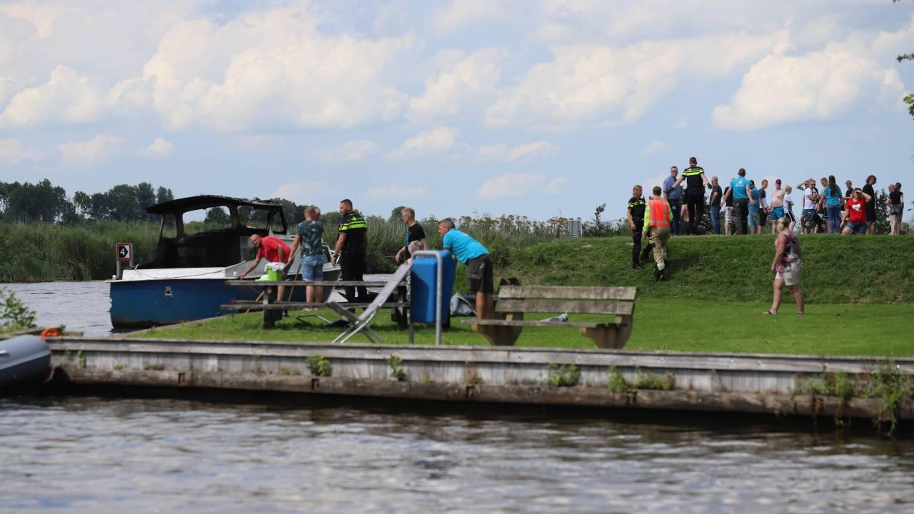 جرحى ومنهم أطفال في انفجار قارب في خرونينجن