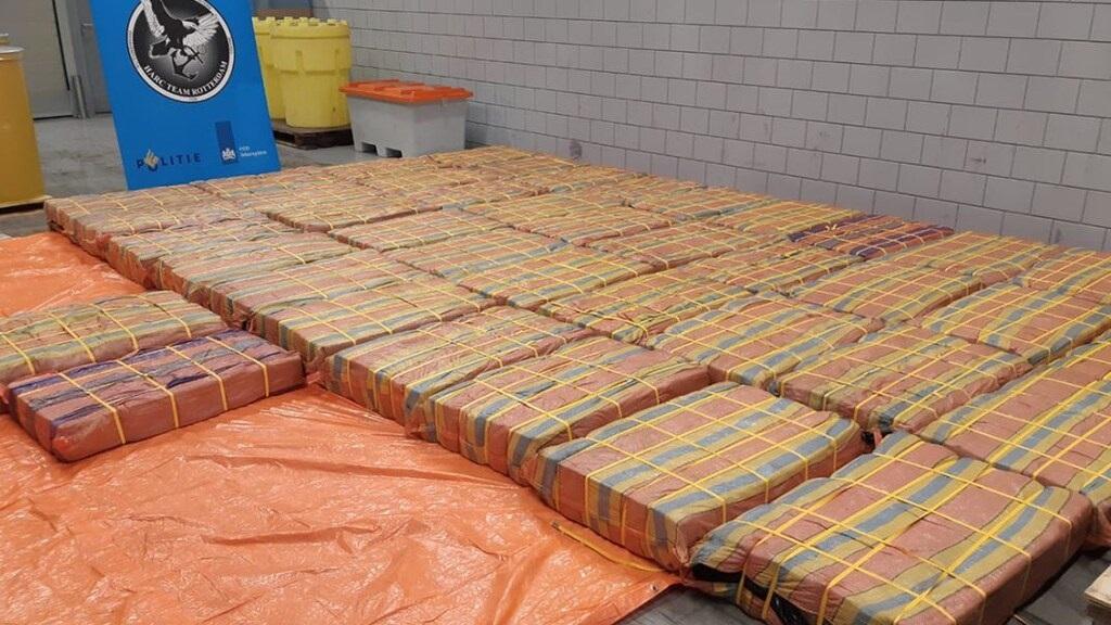 اعتراض أكبر شحنة كوكايين في ميناء روتردام