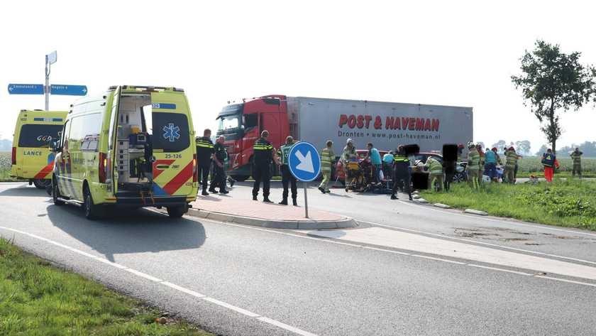 """ضحايا حادث """"تصادم خطير في Emmeloord"""""""